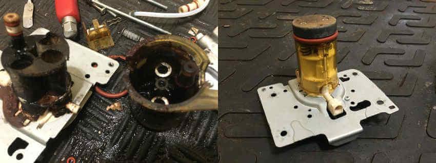 ремонт термоблока delonghi
